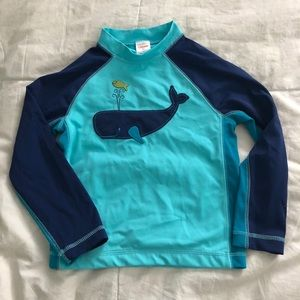 Gymboree rash guard (size 5T)